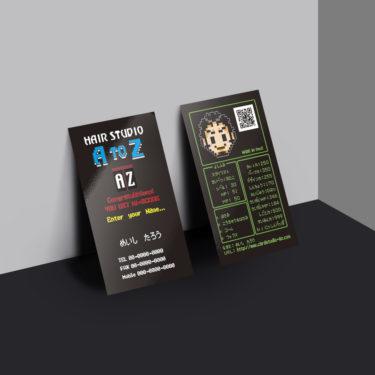 T00004☆セミオーダー!プロのデザイナーが作るマットラミネートPP高級名刺