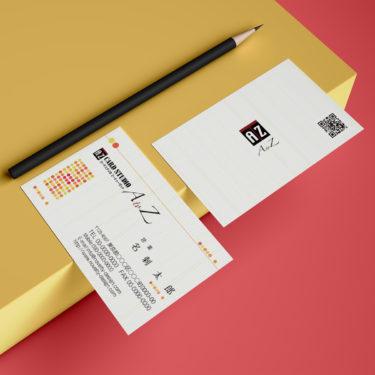 Y00001☆セミオーダー!プロのデザイナーが作るマットラミネートPP高級名刺
