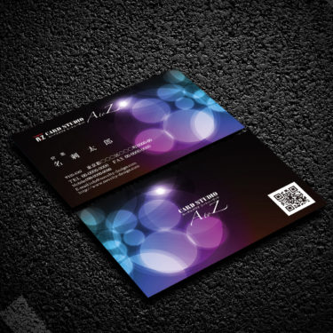 Y00002☆セミオーダー!プロのデザイナーが作るマットラミネートPP高級名刺