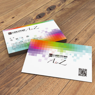Y00003☆セミオーダー!プロのデザイナーが作るマットラミネートPP高級名刺
