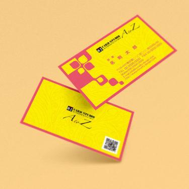 Y00004☆セミオーダー!プロのデザイナーが作るマットラミネートPP高級名刺
