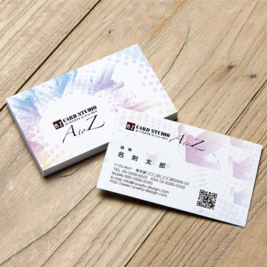 Y00007☆セミオーダー!プロのデザイナーが作るマットラミネートPP高級名刺