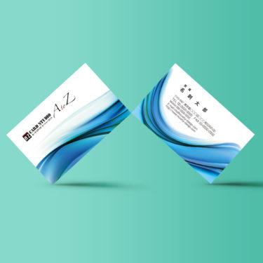 Y00014☆セミオーダー!プロのデザイナーが作るマットラミネートPP高級名刺
