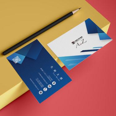 Y00019☆セミオーダー!プロのデザイナーが作るマットラミネートPP高級名刺
