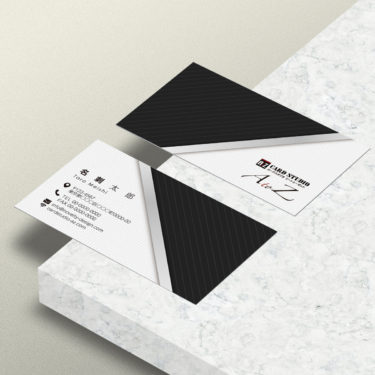 Y00037☆セミオーダー!プロのデザイナーが作るマットラミネートPP高級名刺