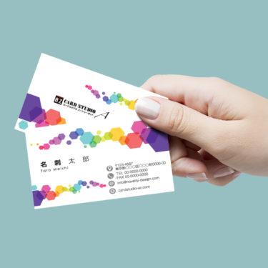 Y00038☆セミオーダー!プロのデザイナーが作るマットラミネートPP高級名刺