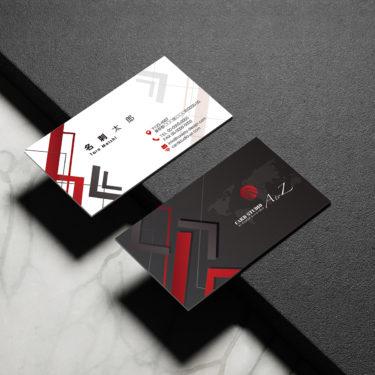 Y00048☆セミオーダー!プロのデザイナーが作るマットラミネートPP高級名刺