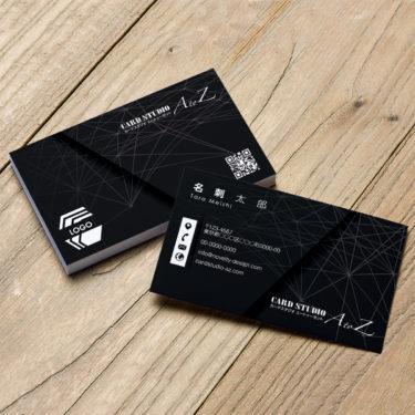 Y00051☆セミオーダー!プロのデザイナーが作るマットラミネートPP高級名刺